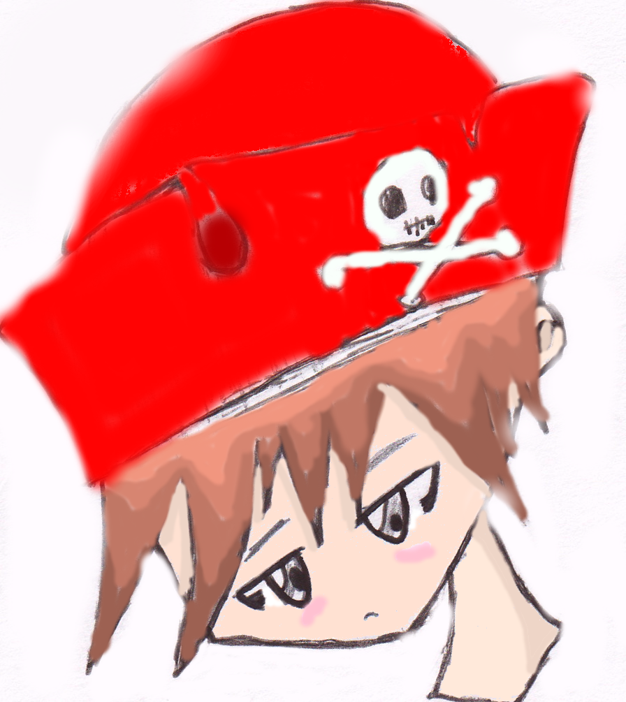 Cute pirate? :]