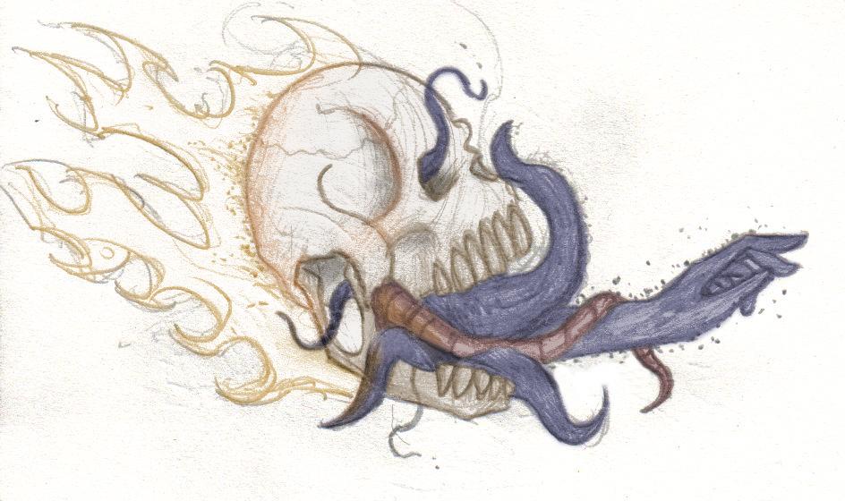 Handy Skull