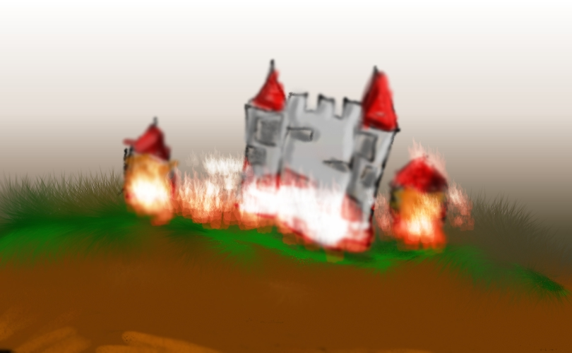 Final battle background