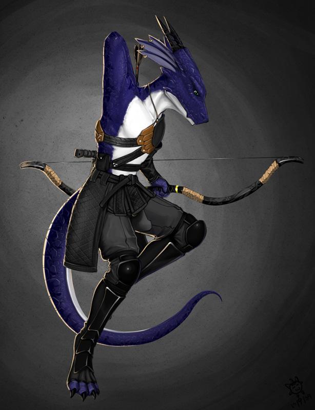 Dragon Archer Guy