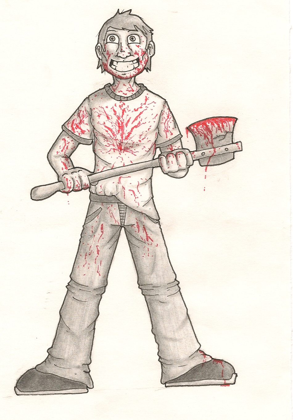 Bloody Axe Guy