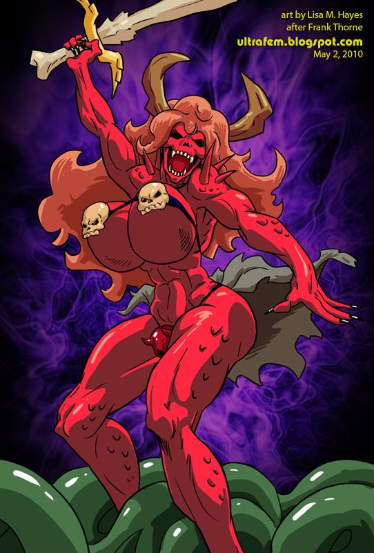 Stygi: She-Demon with a Sword