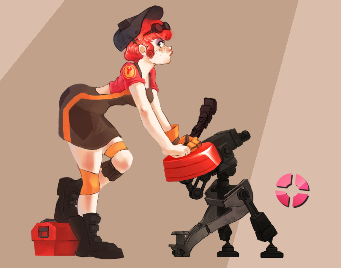 TF2: Girl Engie