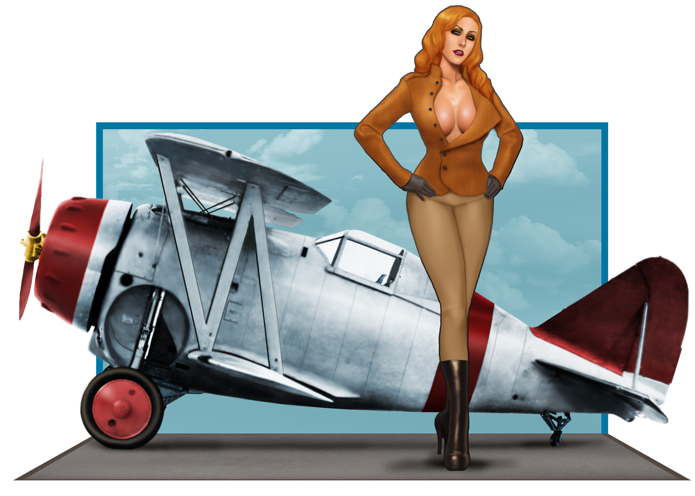 A Girl and her Grumman