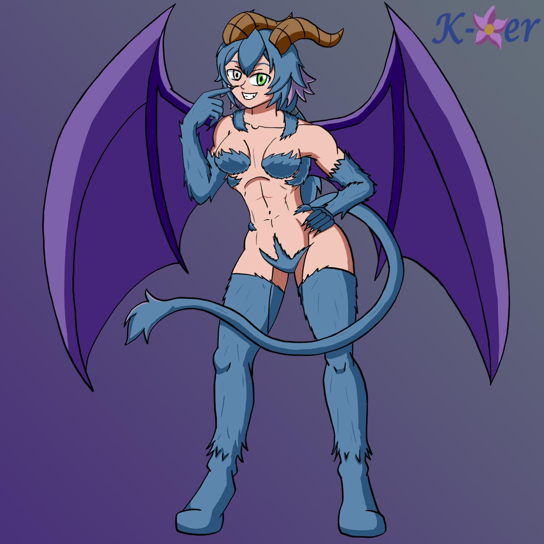 OC Commission- Rei the Jersey Devil