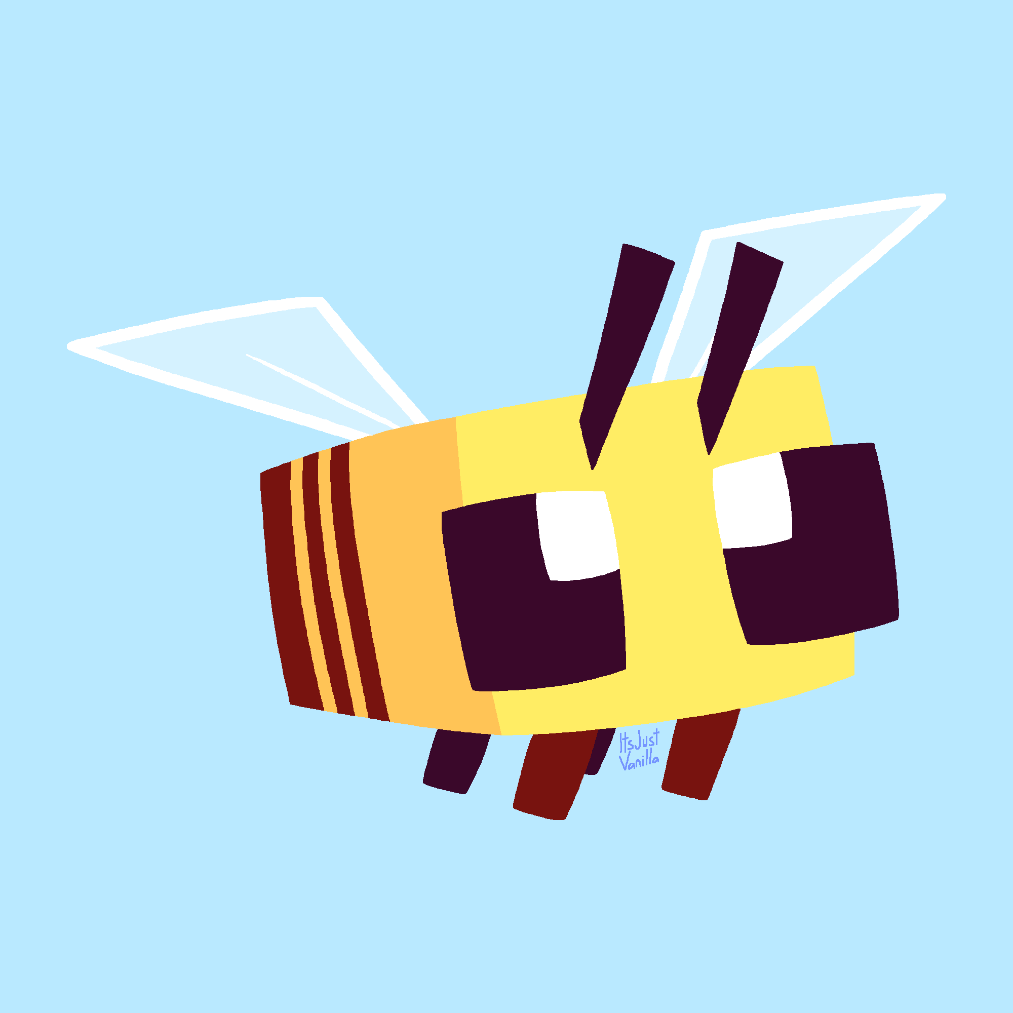 IT'S HIP TO DRAW (minecraft) BEES!