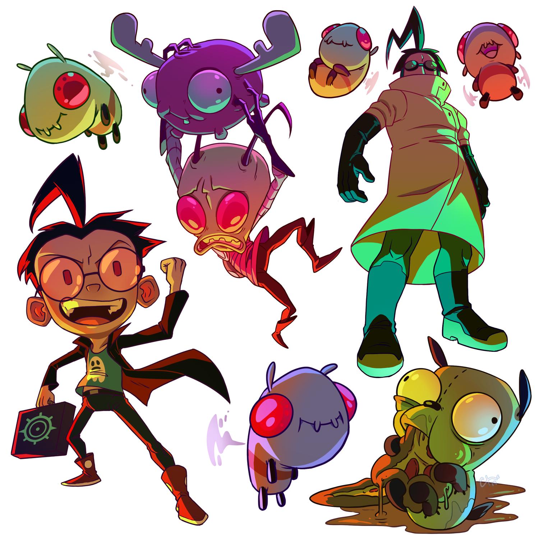 Invader Zim Doodles