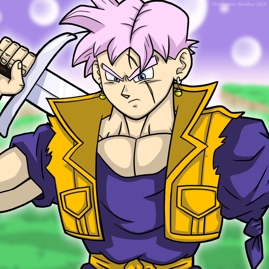 Future Trunks Future Gohan Trohan By Chris Vassilico On