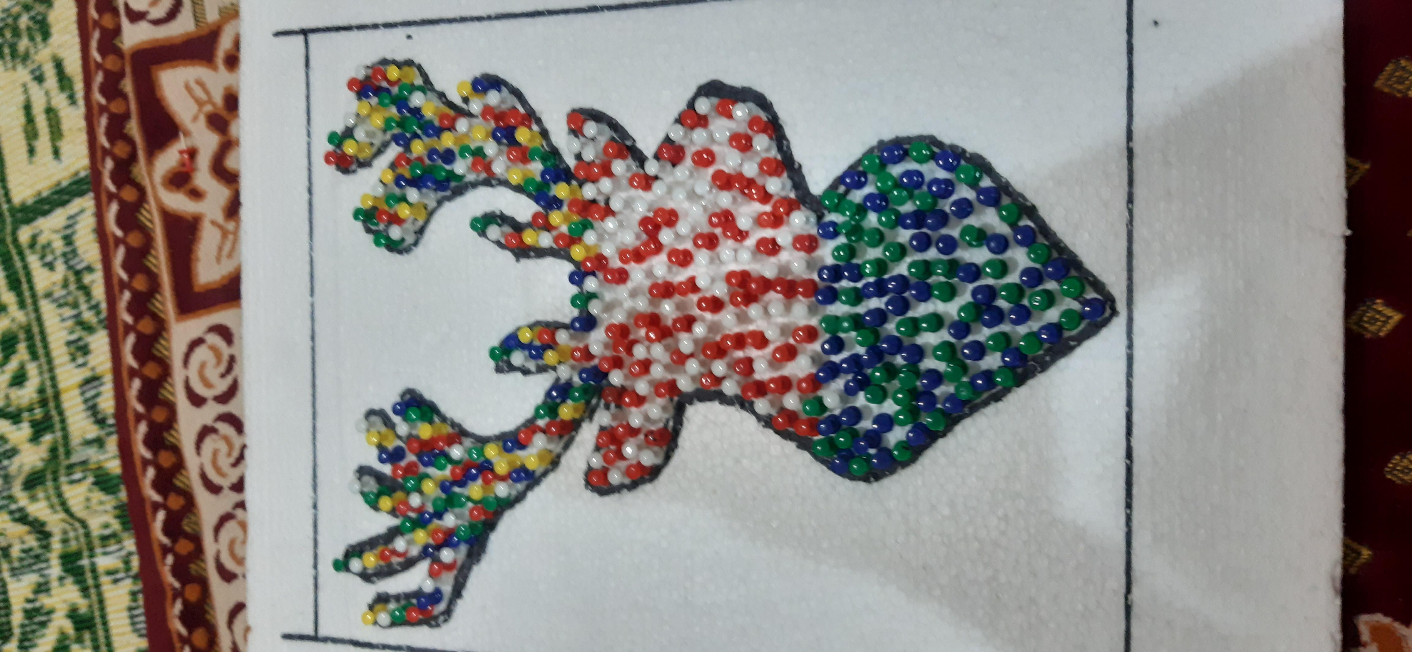 Rainbow raindeer