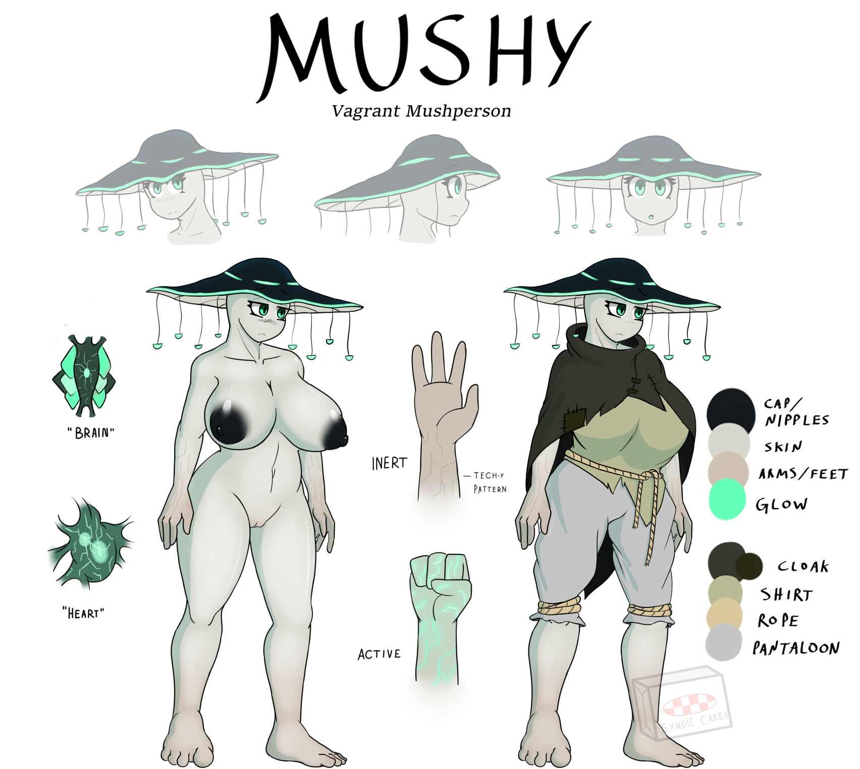 Mushy reference sheet