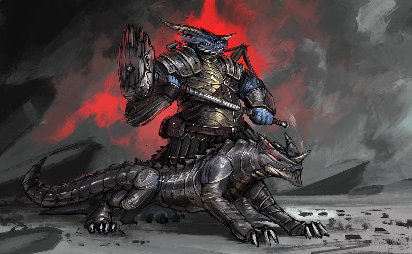 Dragonborn artificer [commission]
