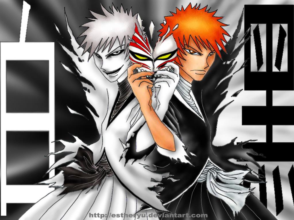 Bleach:Hollow Ichigo & Ichigo