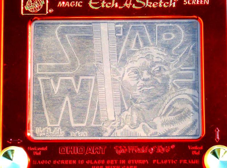 Yoda Star Wars Etchasketch