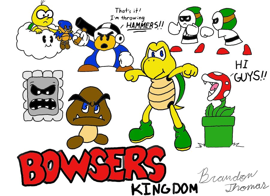 Bowser's Kingdom Characters