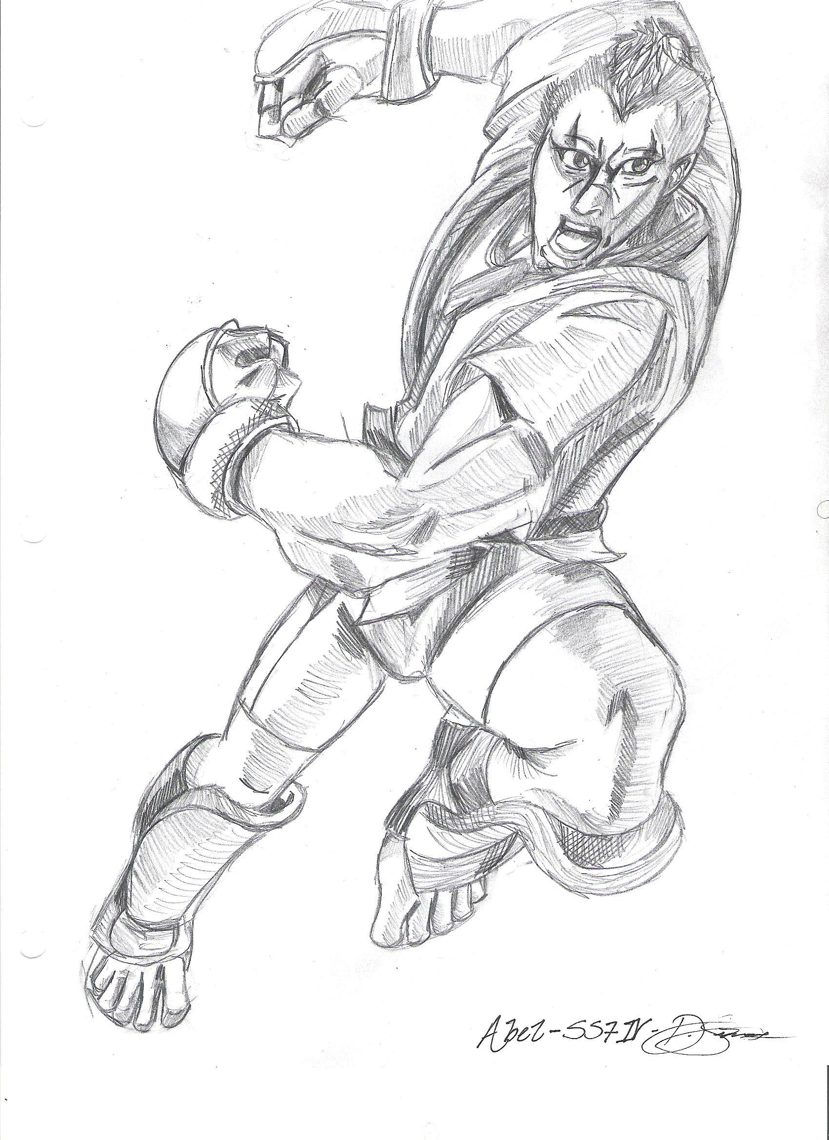 Super Street Fighter IV- Abel