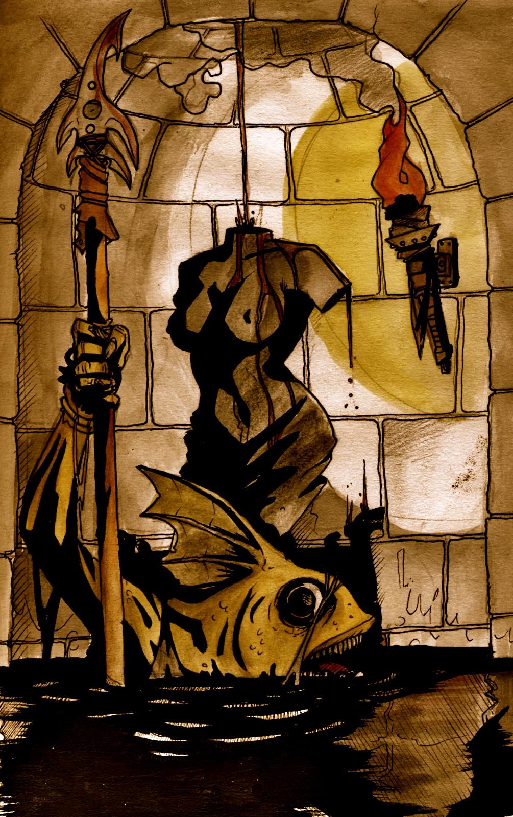 the fish man's lair