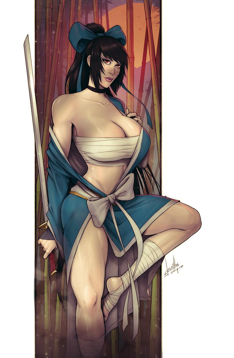 Samurai of OZ 2 variant cover