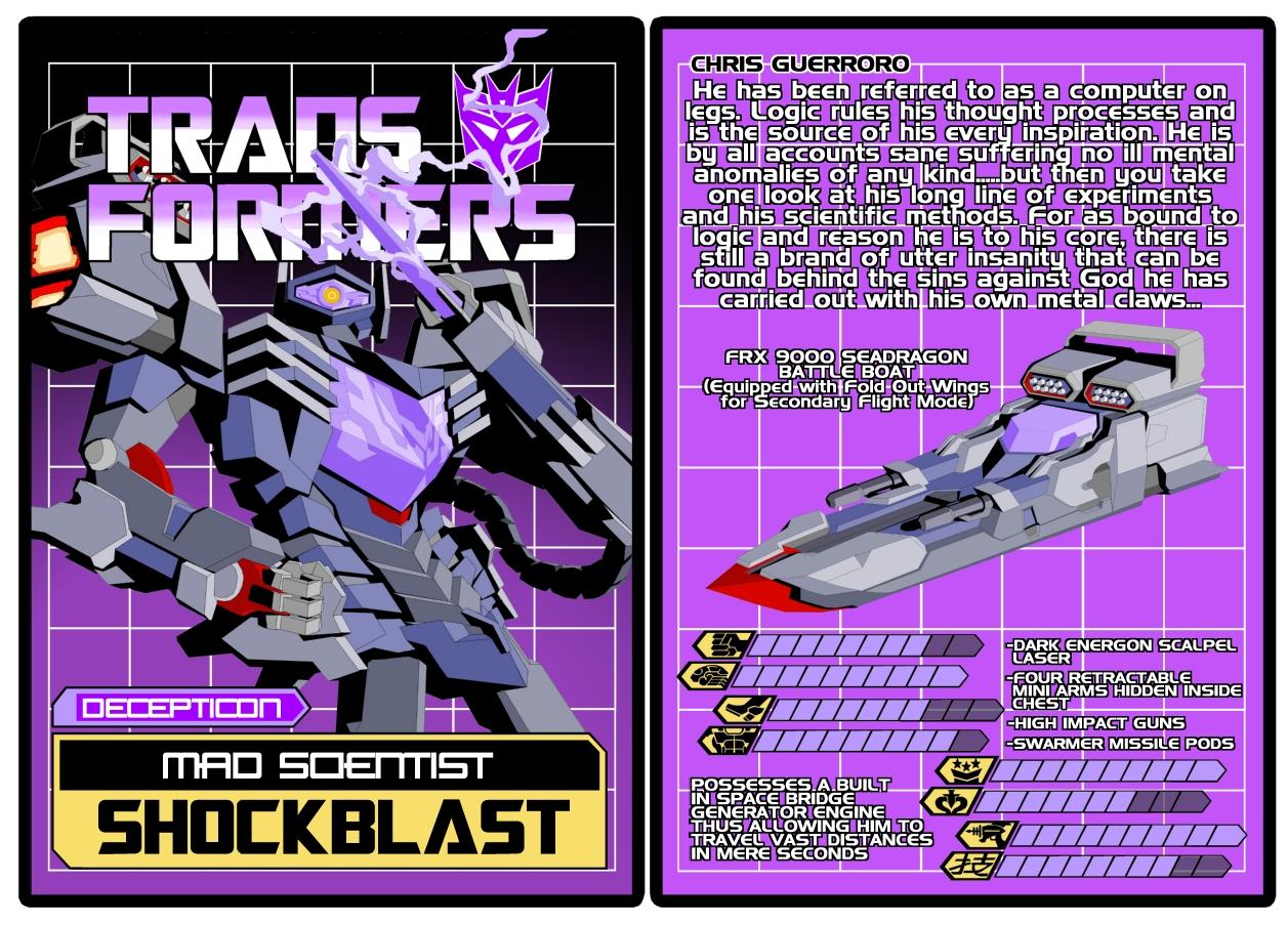 TRANSFORMERS - Decepticon Shockblast
