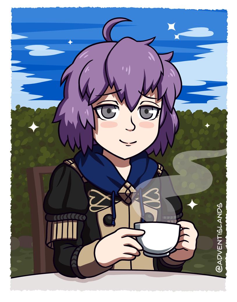 Tea time with Bernadetta