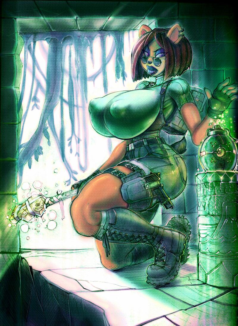 Liz Bandicoot: Tomb Raider