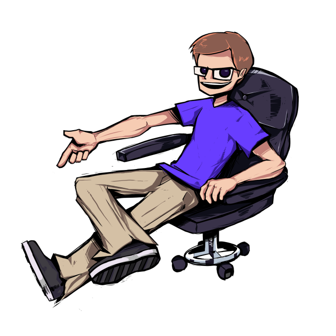 gamer chair scott