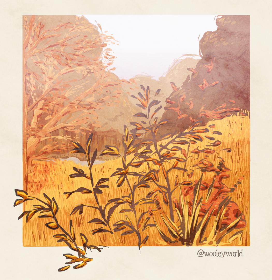 a little autumn scene