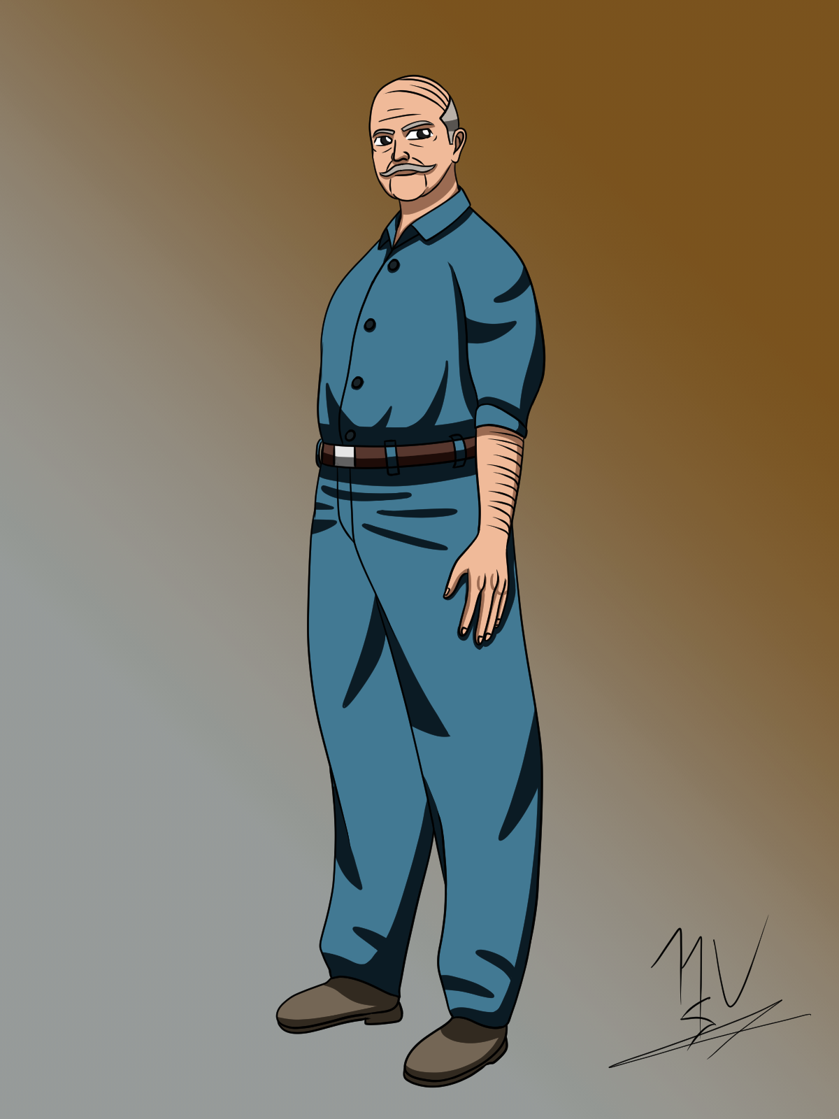 Character Concept: Janitor