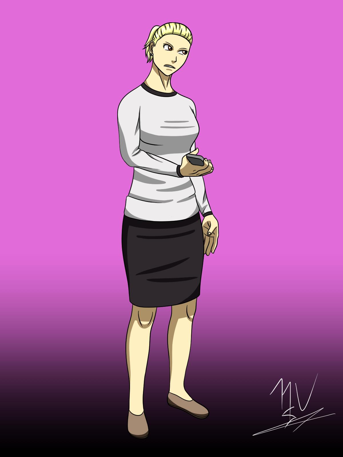 Character Concept: Stephanie Hergenwolfmenortisspunkenmerner