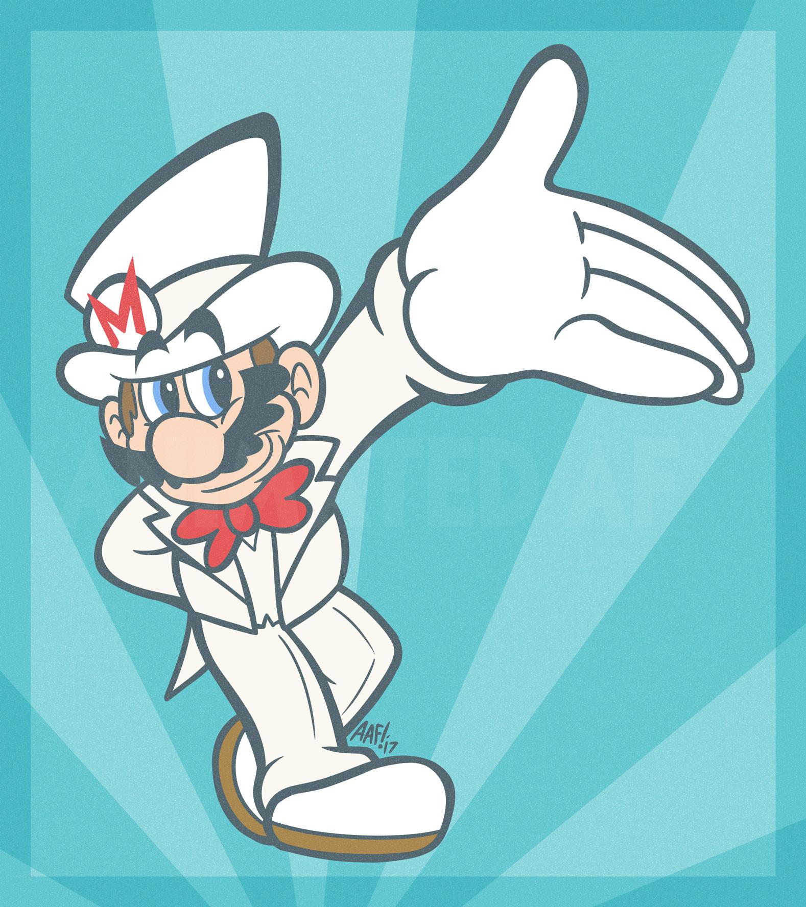 Why Mario you so Dapper
