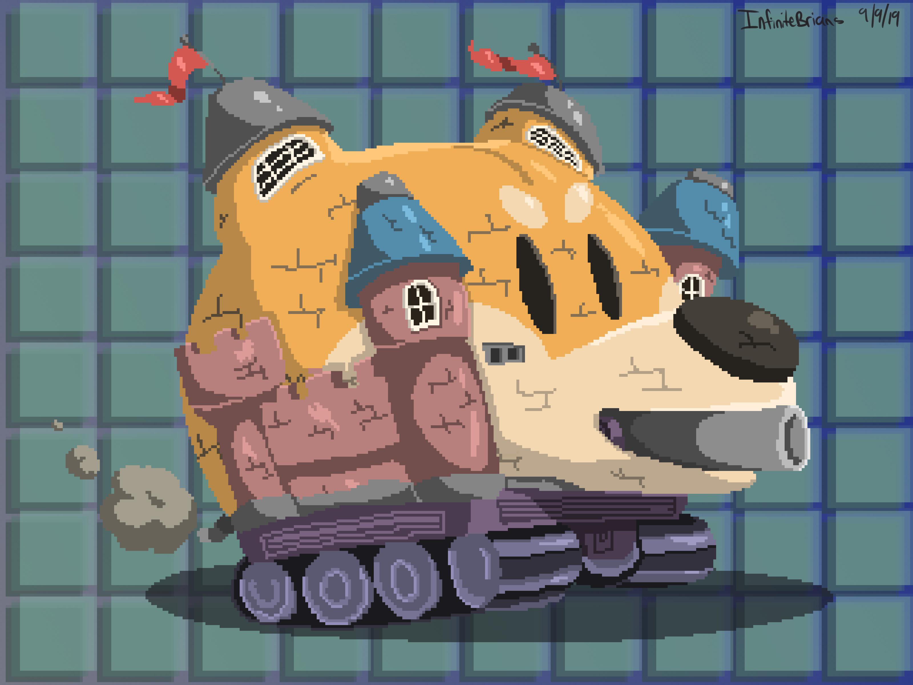 puppy panzer