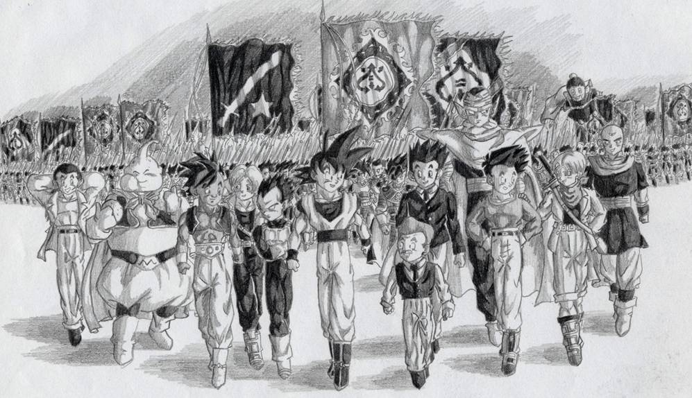 The 7 army march.