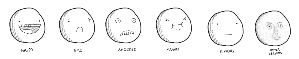 Stick Figure Emotions