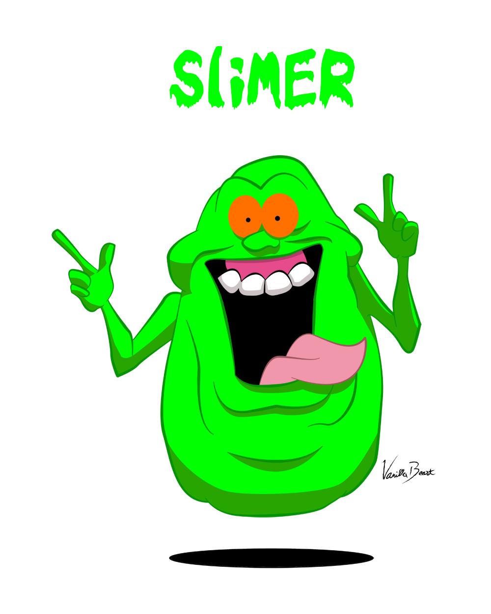 slimer by vanillabeast on newgrounds pumpkin template clipart Pumpkin Clip Art
