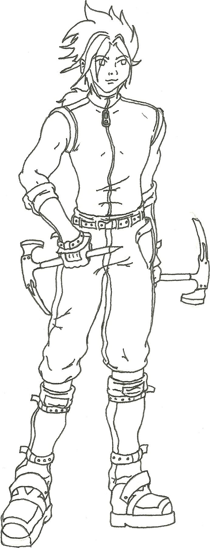 Character design - Christophe