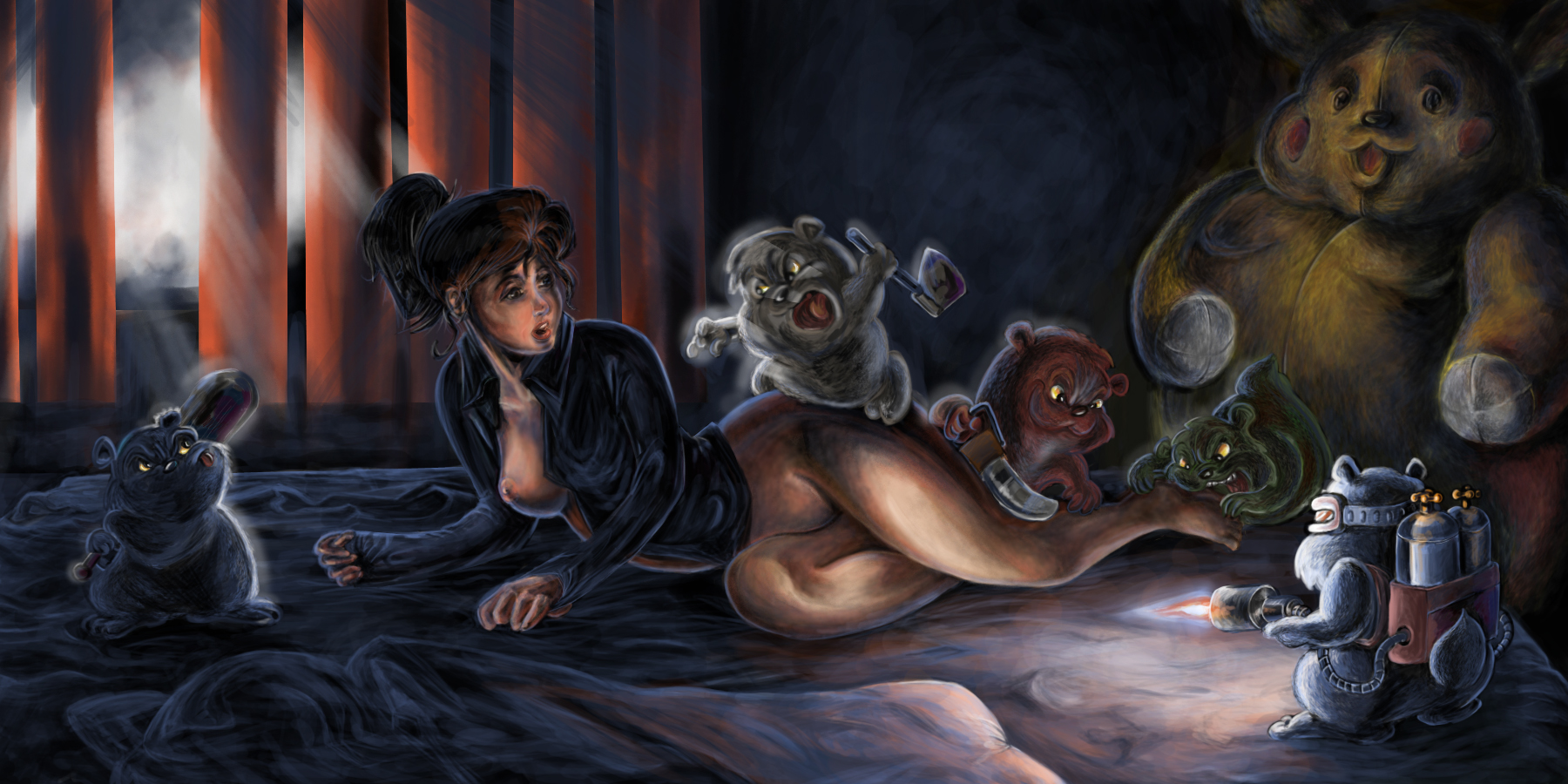 night of the evil hamsters