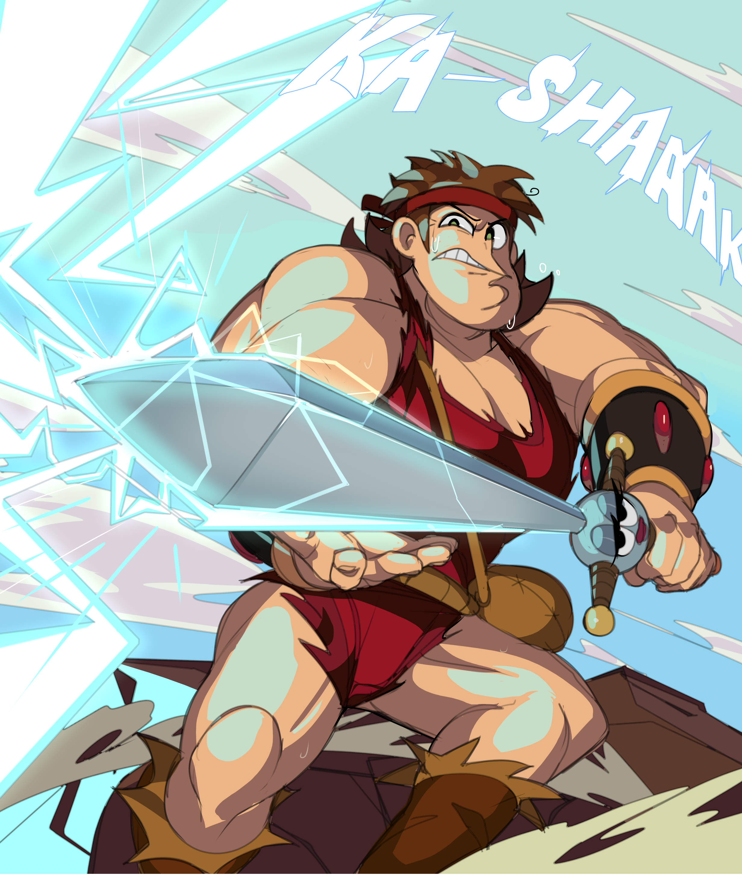 August 2019 Patreon A3 Winner: Dave the Barbarian