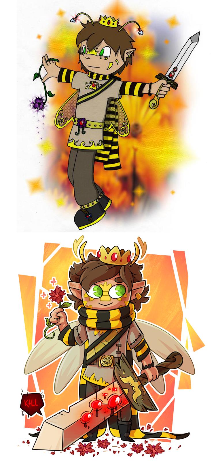 Bee Prince (Redrawing) - 2008/2019