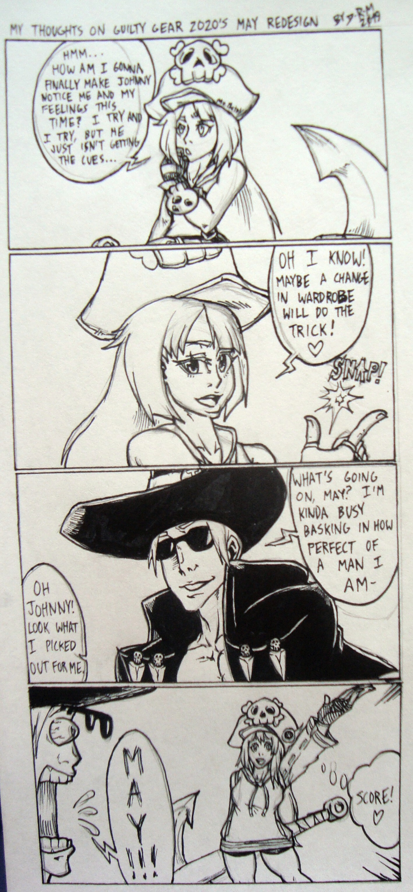 My Thought's on Guilty Gear 2020's Redesign of May