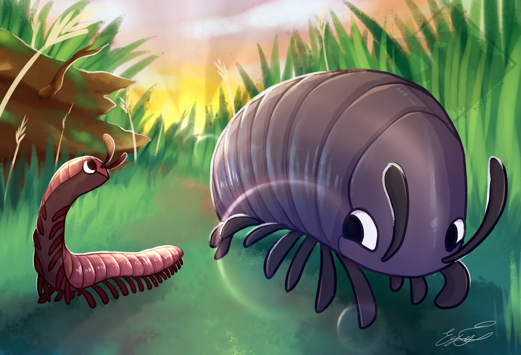 Millipede chonk and noodle