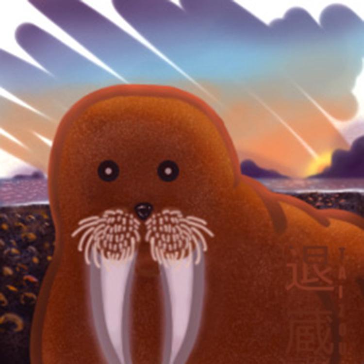 Photo-bombing Walrus