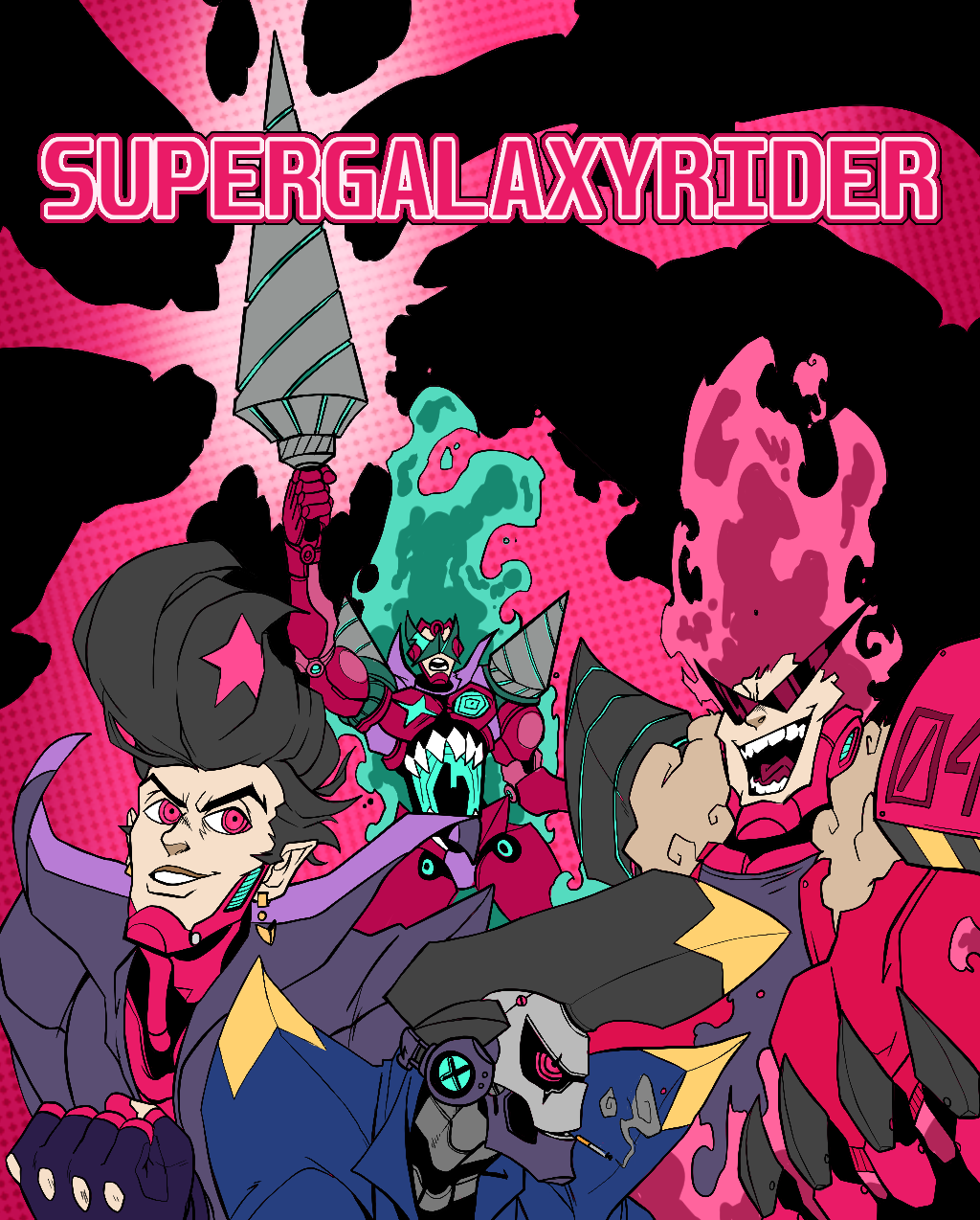 SUPER GALAXY RIDER 2: ELECTRIC BOOGALOO