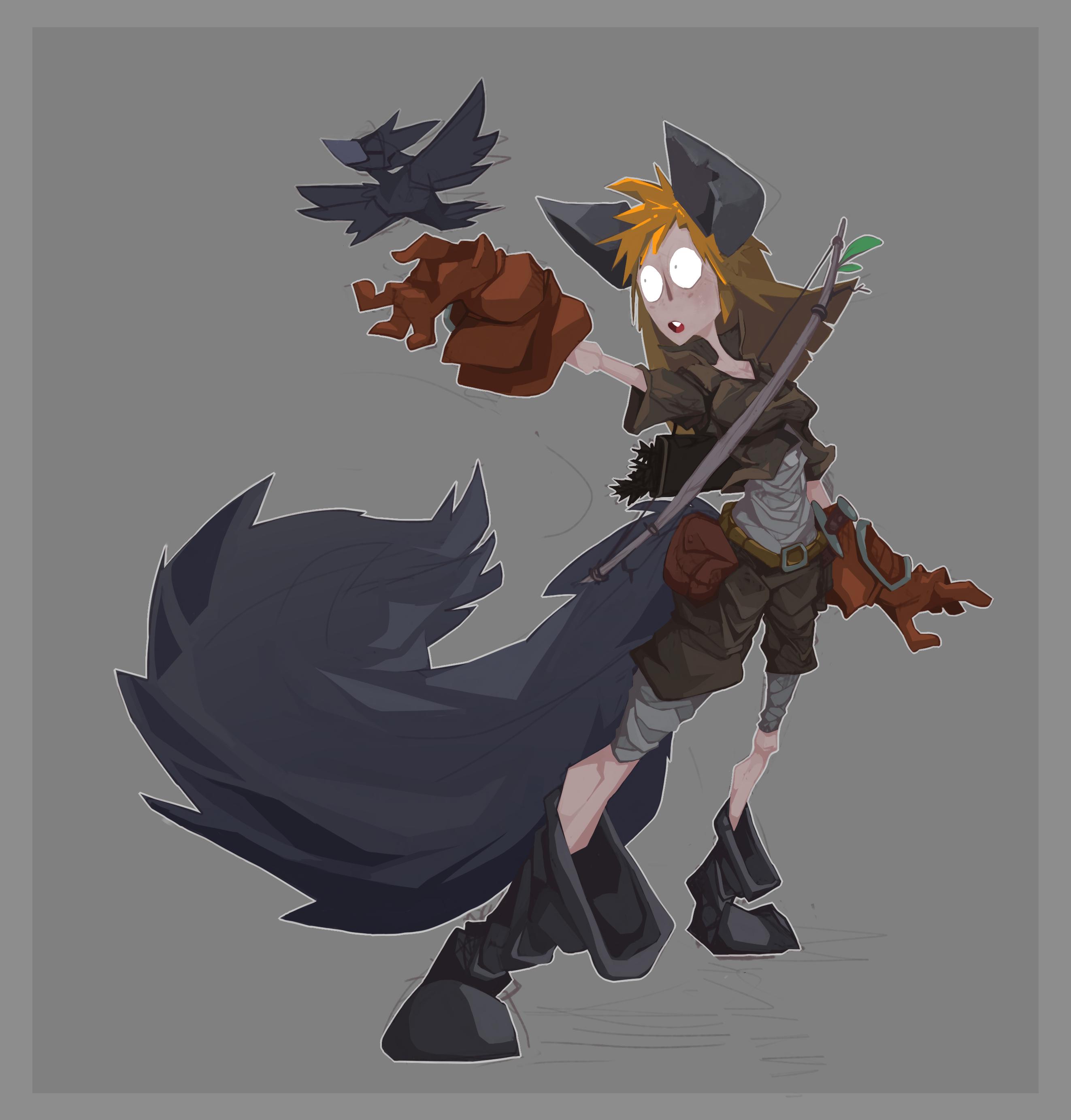 Ameli, the Werewolf!
