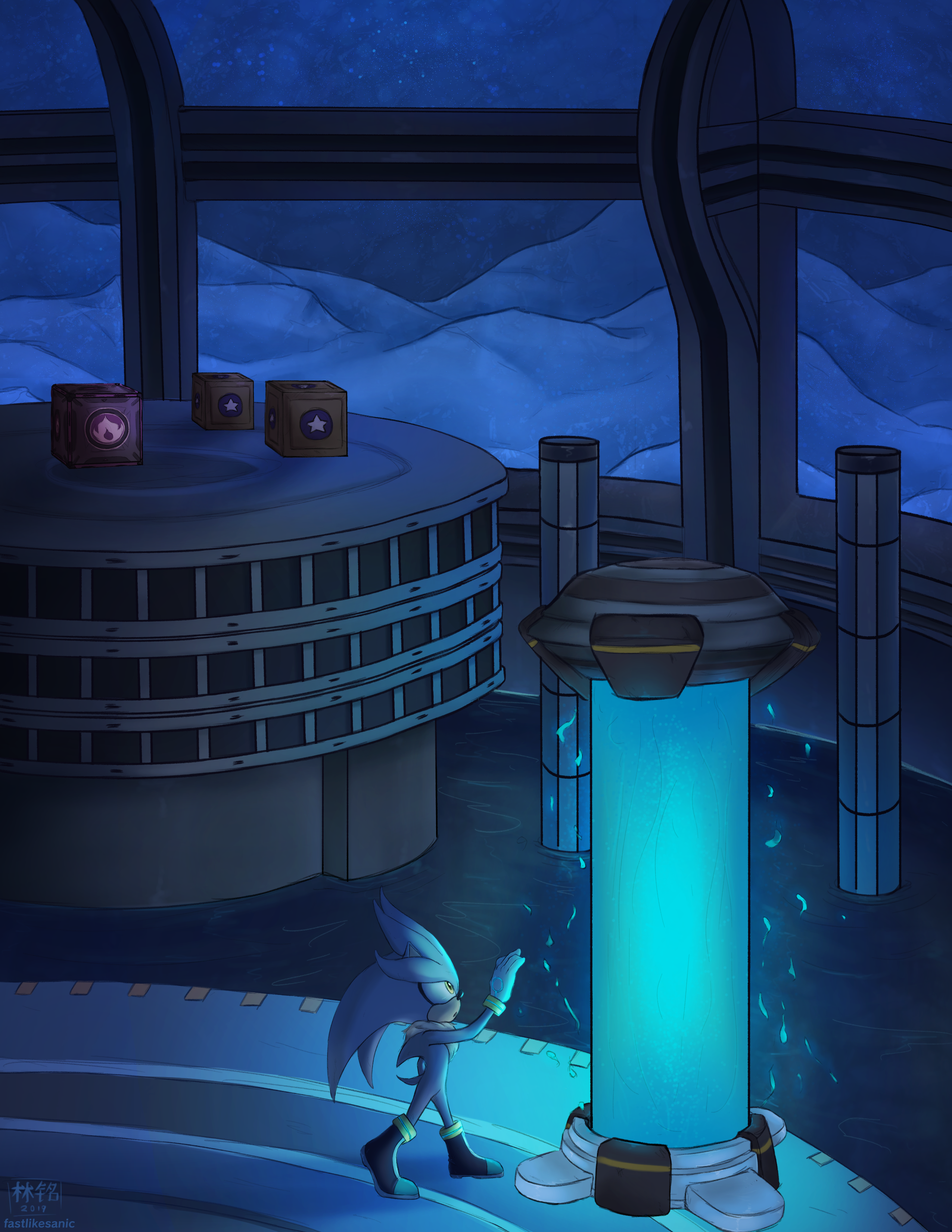 Aquatic Base [Hidden Zone Zine]