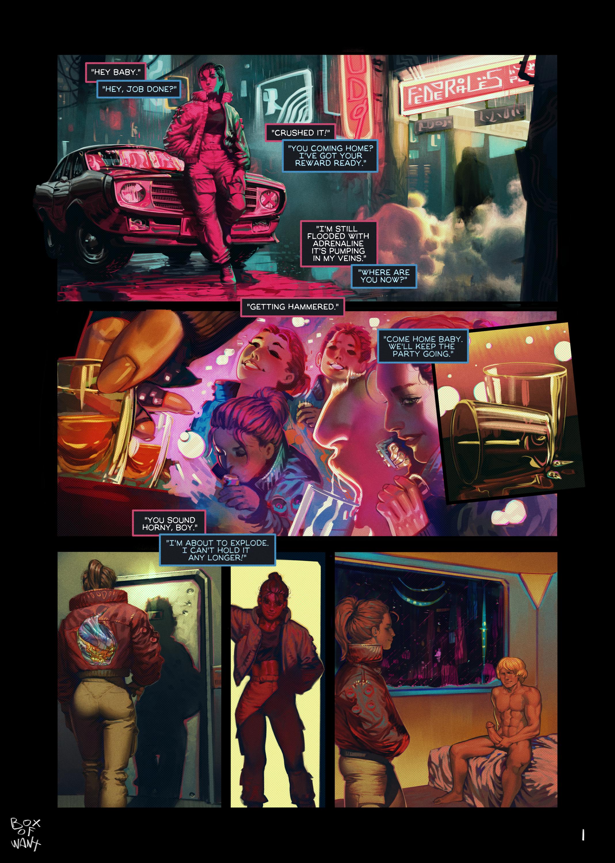 Cyberpunk Haze 1