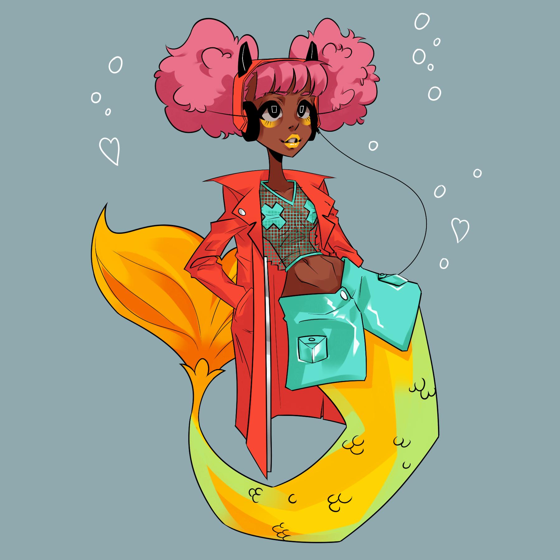 Fashion Mermaid