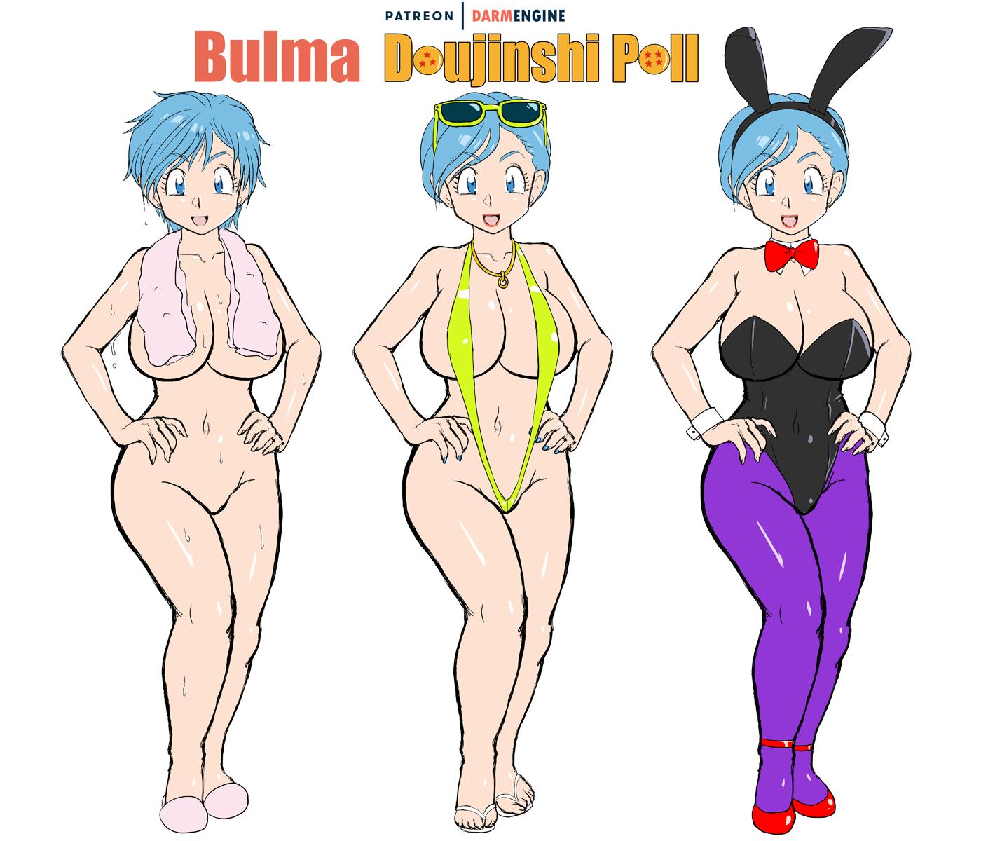 Bulma Doujinshi Poll Promo