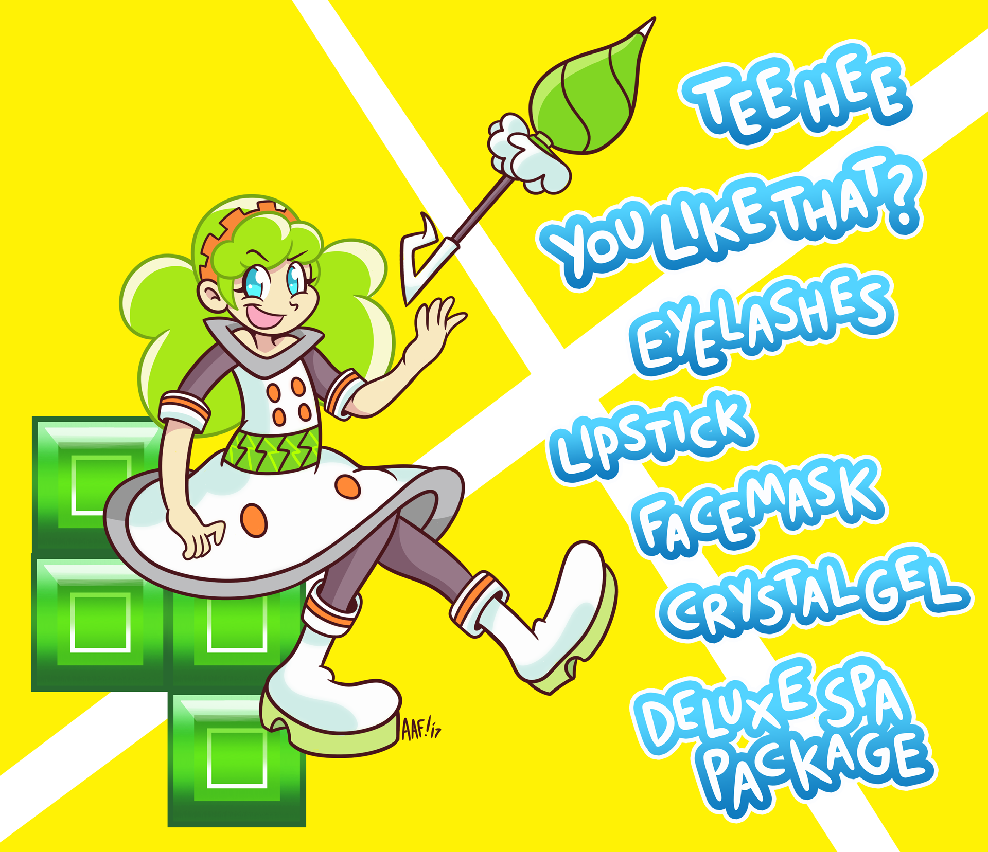 Ess from Puyo Tetris