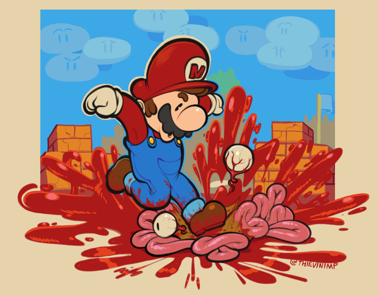Dude What if Mario