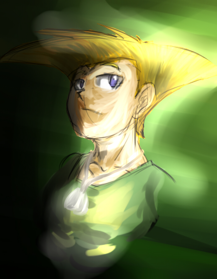 Young Guile Portriat