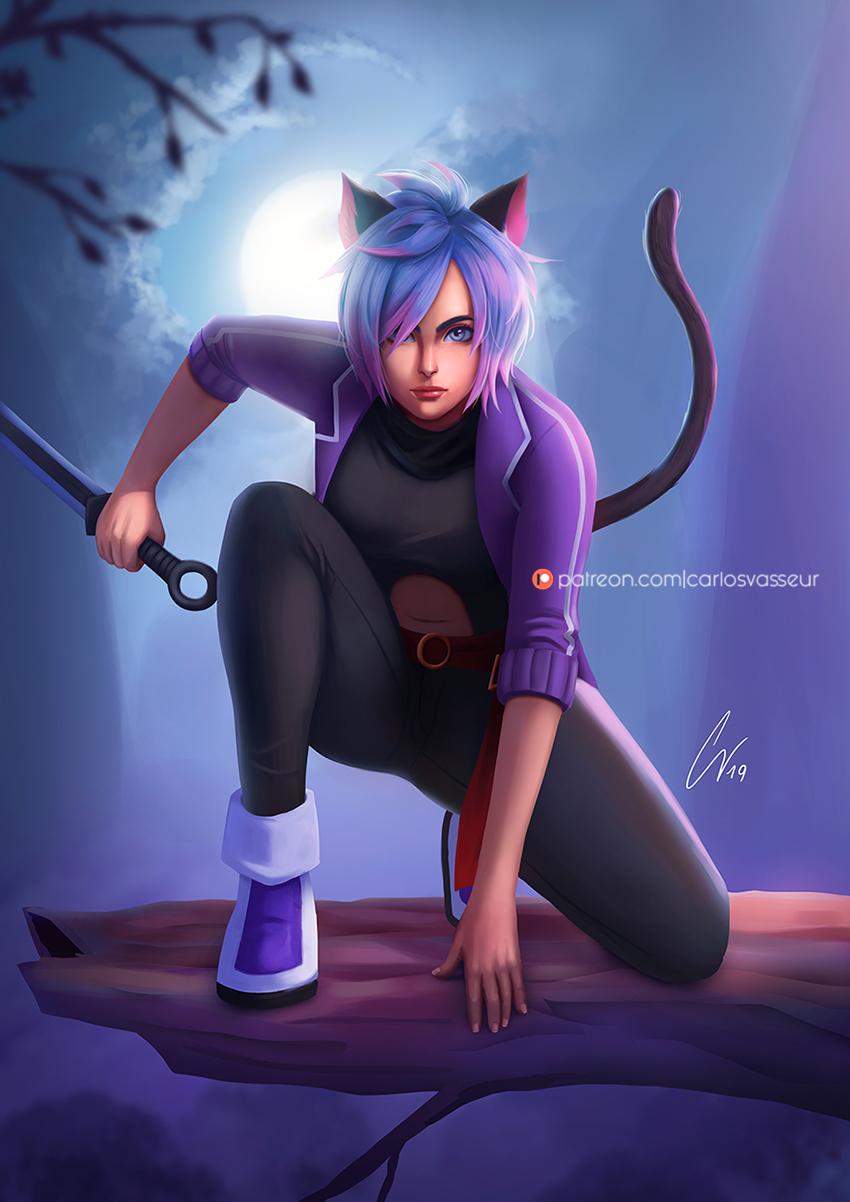 Night Catgirl